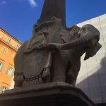 רומא: פיל נושא אובליסק – נקמתו של ברניני
