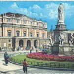 מילאנו: פסלו של לאונרדו דה וינצ'י