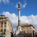 רומא: עמוד העיבור הקדוש (Colonna dell'Immacolata)